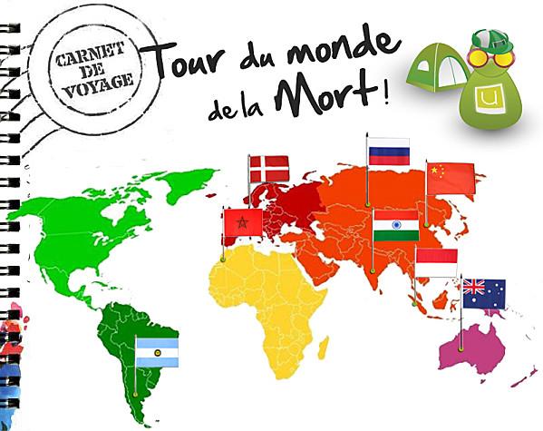 Le tour du monde de la Mort ! 9e étape: le Maroc