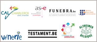 Les partenaires de la Fondation La mort fait partie de la vie.