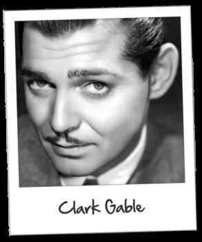 Polaroid-clarkgable« Mourir fait partie de la vie. Et ceux qui ont peur de la mort sont aussi ceux qui ont peur de vivre. » Clark Gable