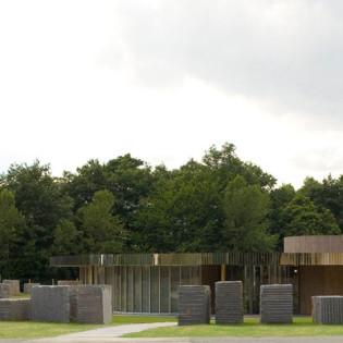 Crématorium de Caen par  Plan01 Architects