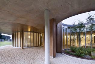 Crématorium de Rennes par  Plan01 Architects