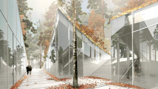 Projet en cours : Crematorium à Stockholm par big-architects