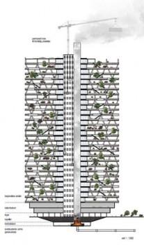 Projet de tour mortuaire d'Oslo
