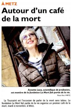 Cafe de la mort à Metz